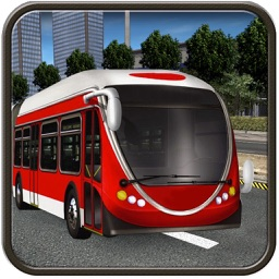 Metro City Bus Public Transport Driving Simulation