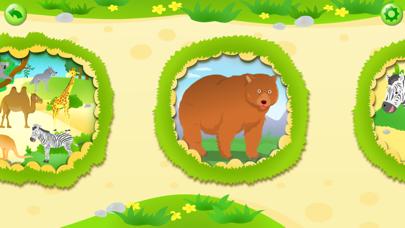 動物園ツアーの単語学習:幼児向けの音声字幕付きのパズルゲーム(無料版)のおすすめ画像4