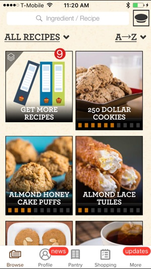 Perfect bake interactive recipe app on the app store forumfinder Gallery