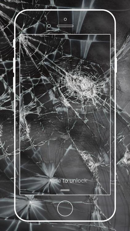 Broken Screen Wallpaper Cracked Screen Prank Hd By Xinmin Wang
