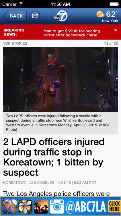 ABC7 Los Angeles: News, Traffic, Weather screenshot-4