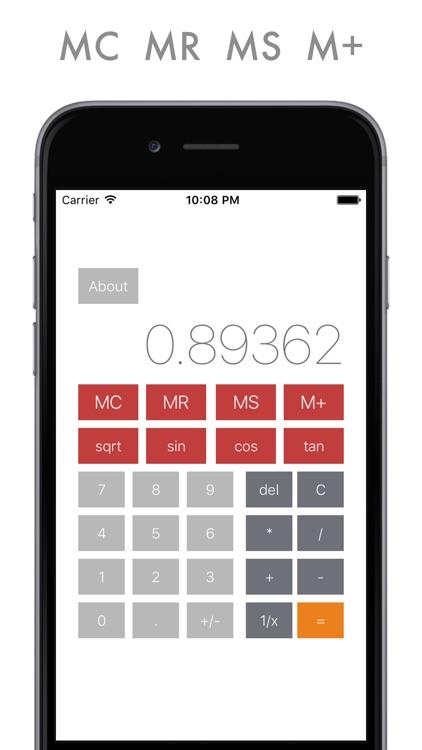 Ultra Calc - power calculator for everyday usage screenshot-3