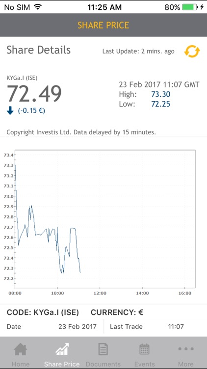 Kerry Group Investor Relations for iPhone screenshot-3