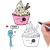 How to Draw Cute Foods