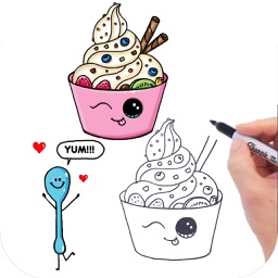 How to Draw Cute Foods by Toan Le Nguyen