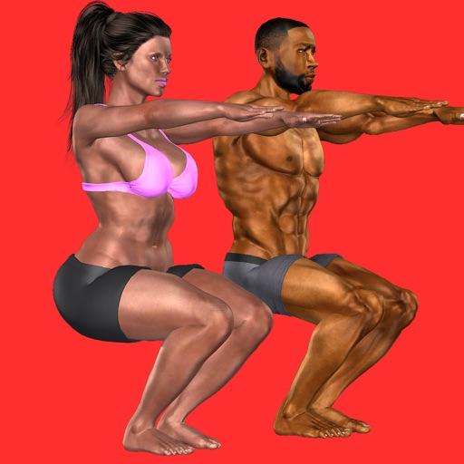 Chrono Squats: 3D Trainer