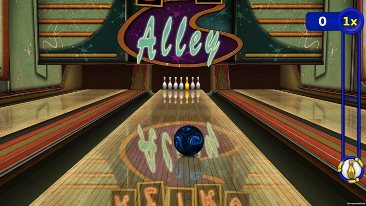 Gutterball: Golden Pin Bowling Lite screenshot-0