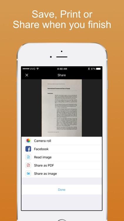 iPloDev Scanner -  PDF + OCR screenshot-3