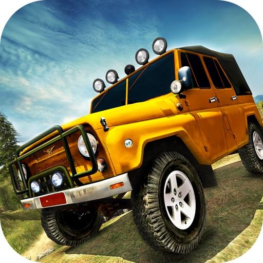 OffRoad 4x4 Jeep Mountain Climb симулятор вождения