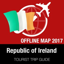 Republic of Ireland Tourist Guide + Offline Map
