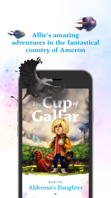 The Cup of Galfar: Fantasy story and hero's novel