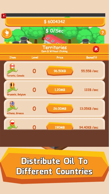 Oil Tycoon - A Tap City Inc & Idle Clicker Games