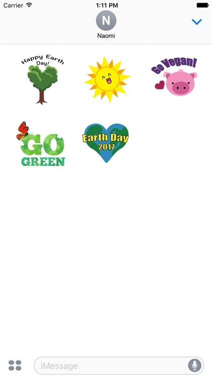 Earth Day - Stickers screenshot-3