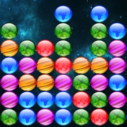 A PopStar Bubbles - Free Fun Addicting Brain Puzzle Block Game