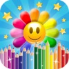 Flower Mania Drawing Pad - Paint, Draw & Doodle HD - iPhoneアプリ