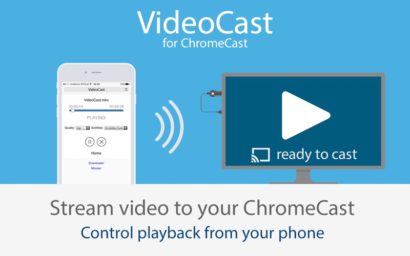 VideoCast Screenshot