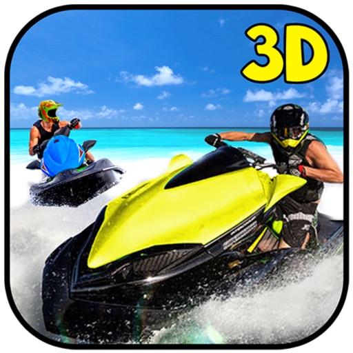 Crazy Jetski Shoot and Racing iOS App