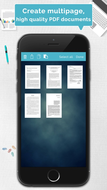 Tom Scanner Pro - PDF document scanner with OCR