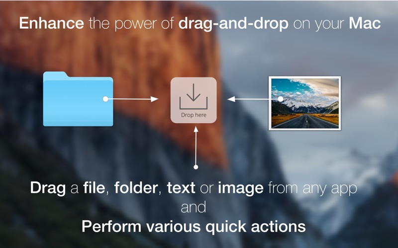 FilePane - Drag & Drop Utility Screenshots