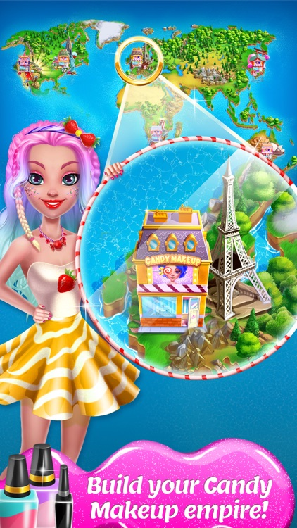 Candy Makeup Beauty Game screenshot-4