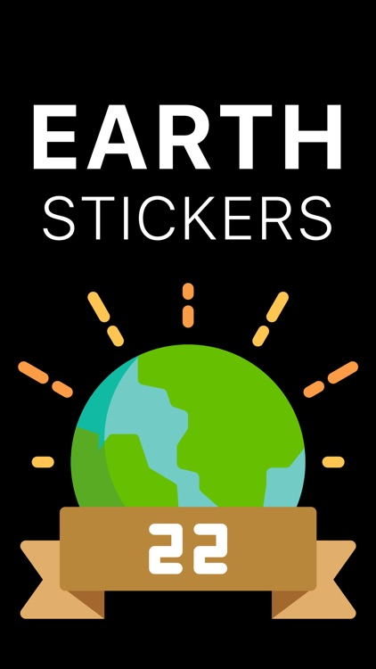 Earth Day Stickers Pack