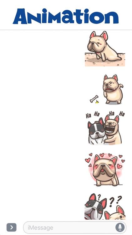 The Funny Bulldog Animated
