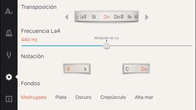Screenshot for Cadenza: Afinador + Metrónomo in Dominican Republic App Store