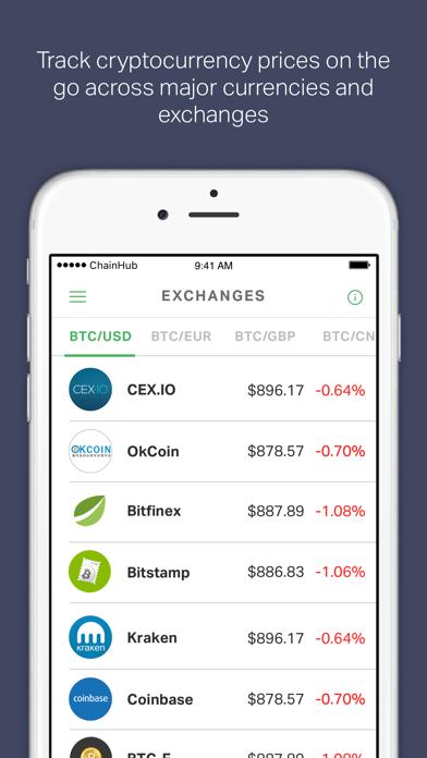 ChainHub — Blockchain and Bitcoin News Aggregator screenshot three
