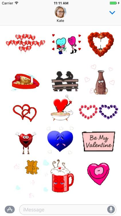 Valentines Day Sticker Pack