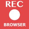 Browser quay video màn hình khi duyệt web