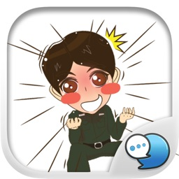 Soldier happy Stickers for iMessage
