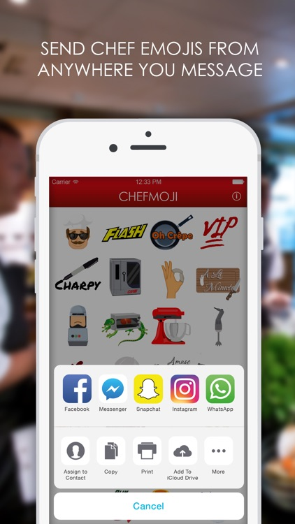 Chefmoji: Emojis & Stickers for Professional Chefs screenshot-4