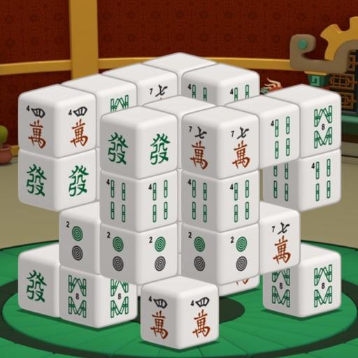 三维麻将馆 - 中国风的麻将风格 application logo