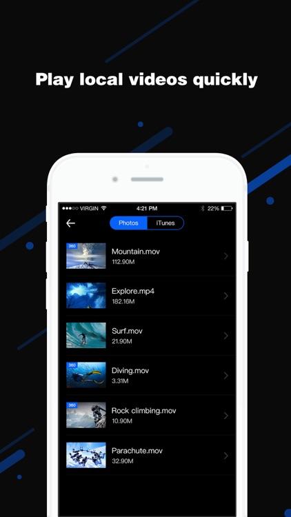Go VR Player- Virtual Reality 3D Video Player screenshot-4