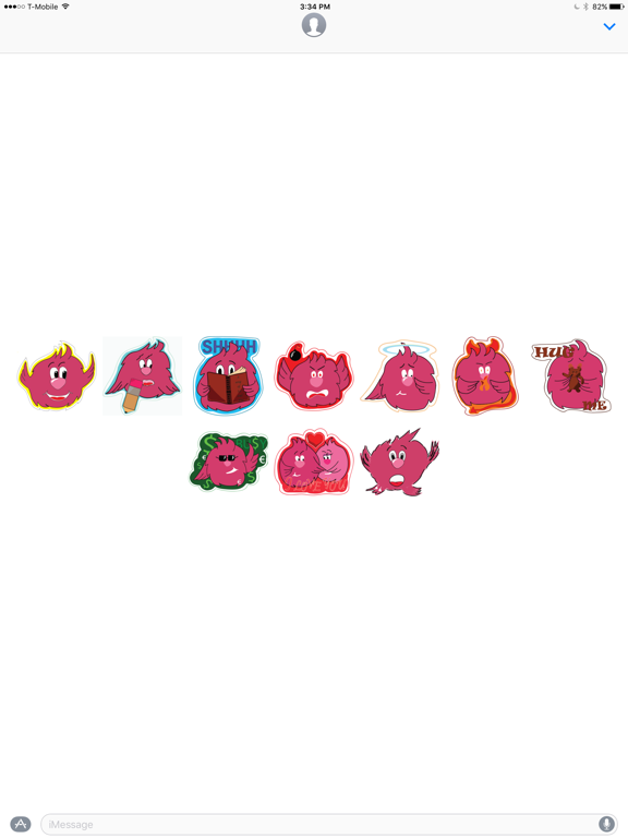 Pinky stickers by Lorin   App Price Drops