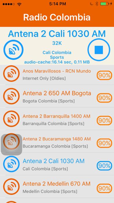 Radio Colombia - Radio COL - App - iOS me