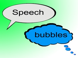 Fill your speech bubbles with any other sticker you want
