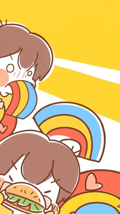 Foodie Girl − NHH Stickers