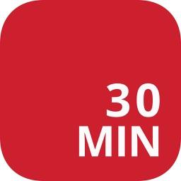 30 Minute Workout Tracker : 90 day fitness program