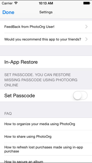 Photo Org Screenshot 5