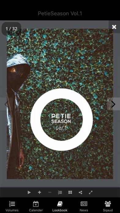 PetieSeason screenshot two