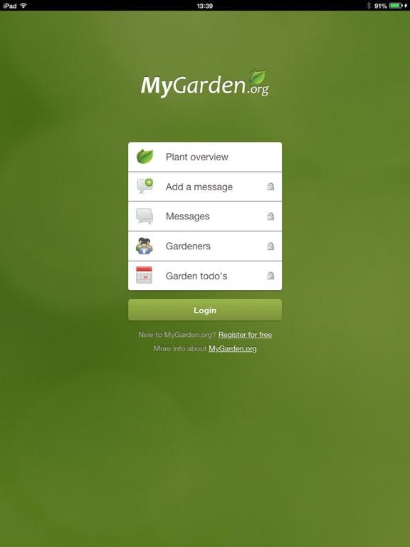 MyGarden screenshot