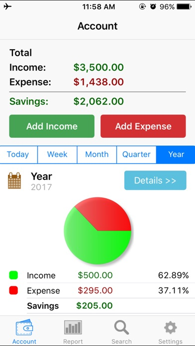 расходы - Учет расходовСкриншоты 1
