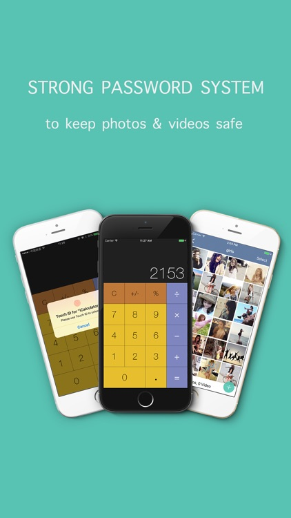 iCalculator+ - keep lock private photo vault safe