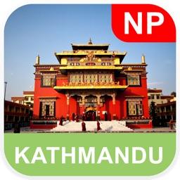 Kathmandu, Nepal Offline Map - PLACE STARS