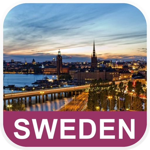 Sweden Offline Map - PLACE STARS