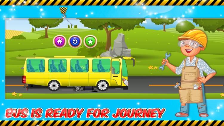 Bus Builder Mechanic – Auto Vehicles Factory screenshot-4