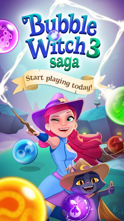 Bubble Witch 3 Saga screenshot-4