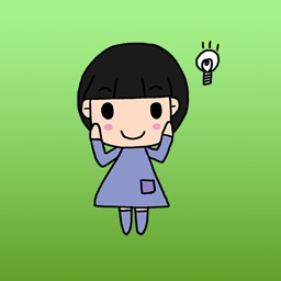 Cute Anime Girls In Child Art Stickers