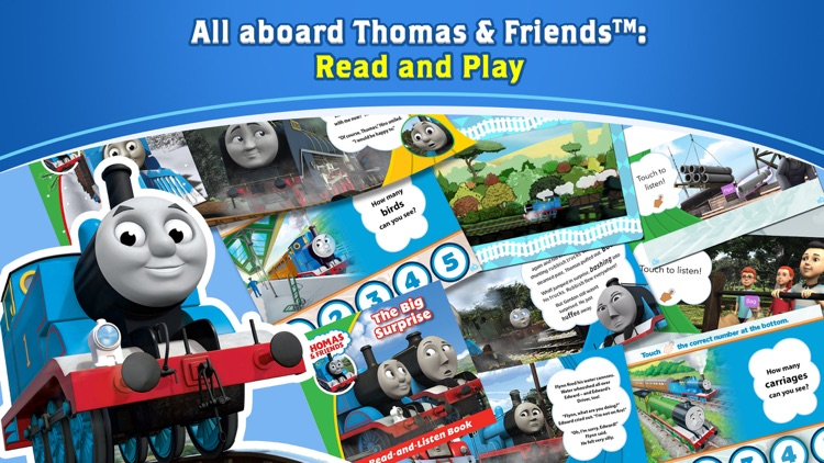 Thomas & Friends™: Read & Play screenshot-0